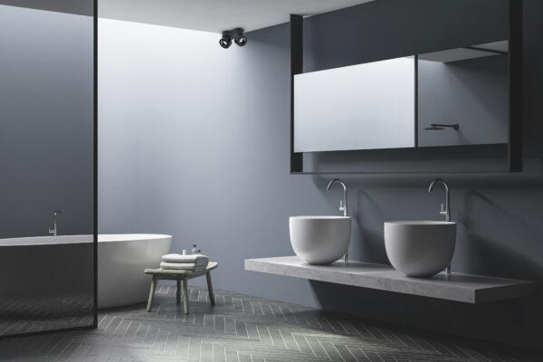 ANTIDARK EASY double in bathroom